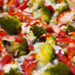 Pizza vegetables — Stock Photo