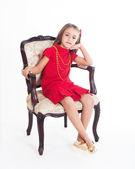 Güzel bir kız portresi — Stok fotoğraf