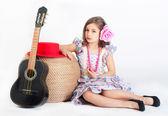 Garota linda — Fotografia Stock