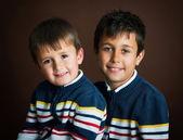 Dwóch braci — Zdjęcie stockowe