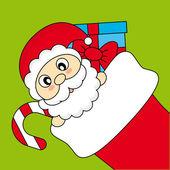 Santa Claus — Vetor de Stock