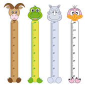 Bumper children meter wall — Vettoriale Stock