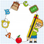 School icon — Stock Vector