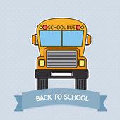 školní autobus — Stock vektor
