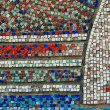 Mosaic Wall Texture - Stock Photo