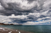 Sea and clouds — Stock Photo