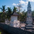 White hindu temple on Nusa Penida — Stockfoto