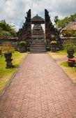 Main gate to Pura Taman Ayun — Stock Photo