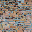 Aged brick wall background — Stock Photo