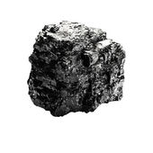 Piece of coal — Stock Photo