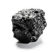 Pezzo di carbone — Foto Stock