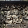 Bas-relief in Borobudur — Stock Photo #39078553