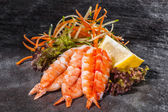Prawn slices — Foto Stock