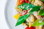 Salad with sesame — Foto Stock