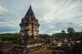 Prambanan Temple on sunset — Foto de Stock