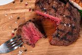Bistecca con spezie — Foto Stock