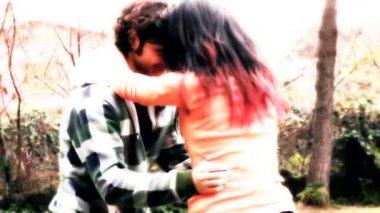 Couple dancing — Stock Video