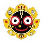 Постер, плакат: Jagannath Indian God of the Universe
