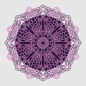 Mandala. Indian decorative pattern. — Stock Vector