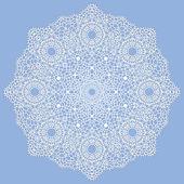 Mandala. motif décoratif indien. — Vecteur