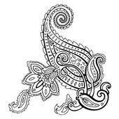 Paisley. Ethnic ornament. — Stock Vector