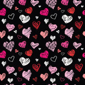 Padrão de coração — Vetorial Stock