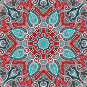 Mandala. Round Ornament. — Stock Vector