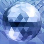 Abstract 3D illustration. Dsco ball. — Stock Photo