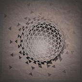 Abstract 3D geometric illustration. — Stock Photo