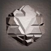 Abstract 3D geometric illustration. — Stock Photo