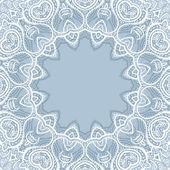 Lace background. Mandala. — Vetorial Stock