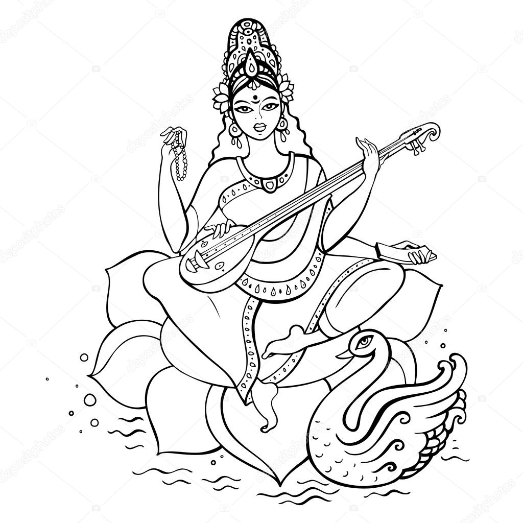 hindu gods coloring pages - coloring page for hinduism gods coloring pages
