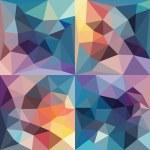 Polygonal background. — Stock Vector