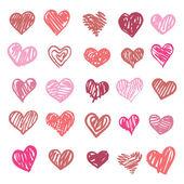 Love. Heart illustration isolated. — Stock Vector