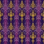 Seamless wallpaper pattern. — Stock Vector
