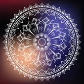 Mandala made of Seashells. — Stock Vector