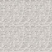Handwriting. Seamless vector background. — Stock Vector