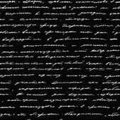 Handschrift. nahtloser vektor hintergrund. — Stockvektor