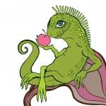 Lizard. — Stock Vector