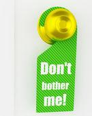 緑色のハンドルの印 — ストック写真
