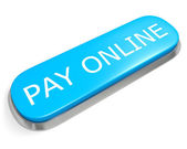 Button PAY ONLINE — Stock Photo