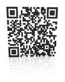 単色の qr コード 2 — ストック写真