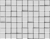 Cubes abstract background silver — Stock Photo