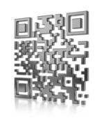 Abstract illustration of QR code — Stock Photo