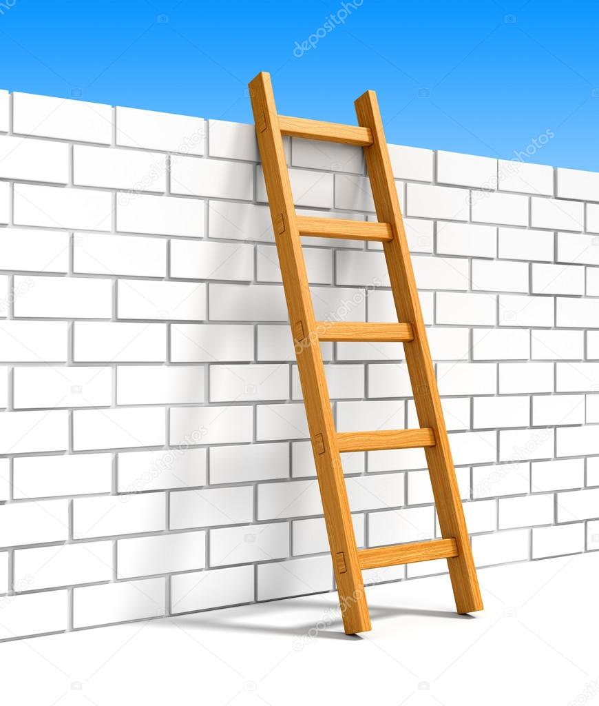 ladder on wall - photo #18