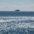 Stock Photo: Fishing trawler