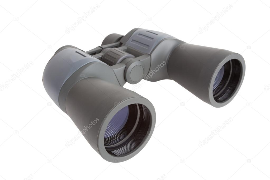 Army plastic binoculars on a white background — Stock Photo #14167931