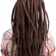 Young girl with dreadlocks — Stock Photo