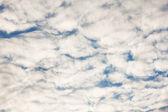 Gran número de pequeñas nubes — Foto de Stock
