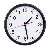 Clock is twenty minutes of the second — Stock Photo